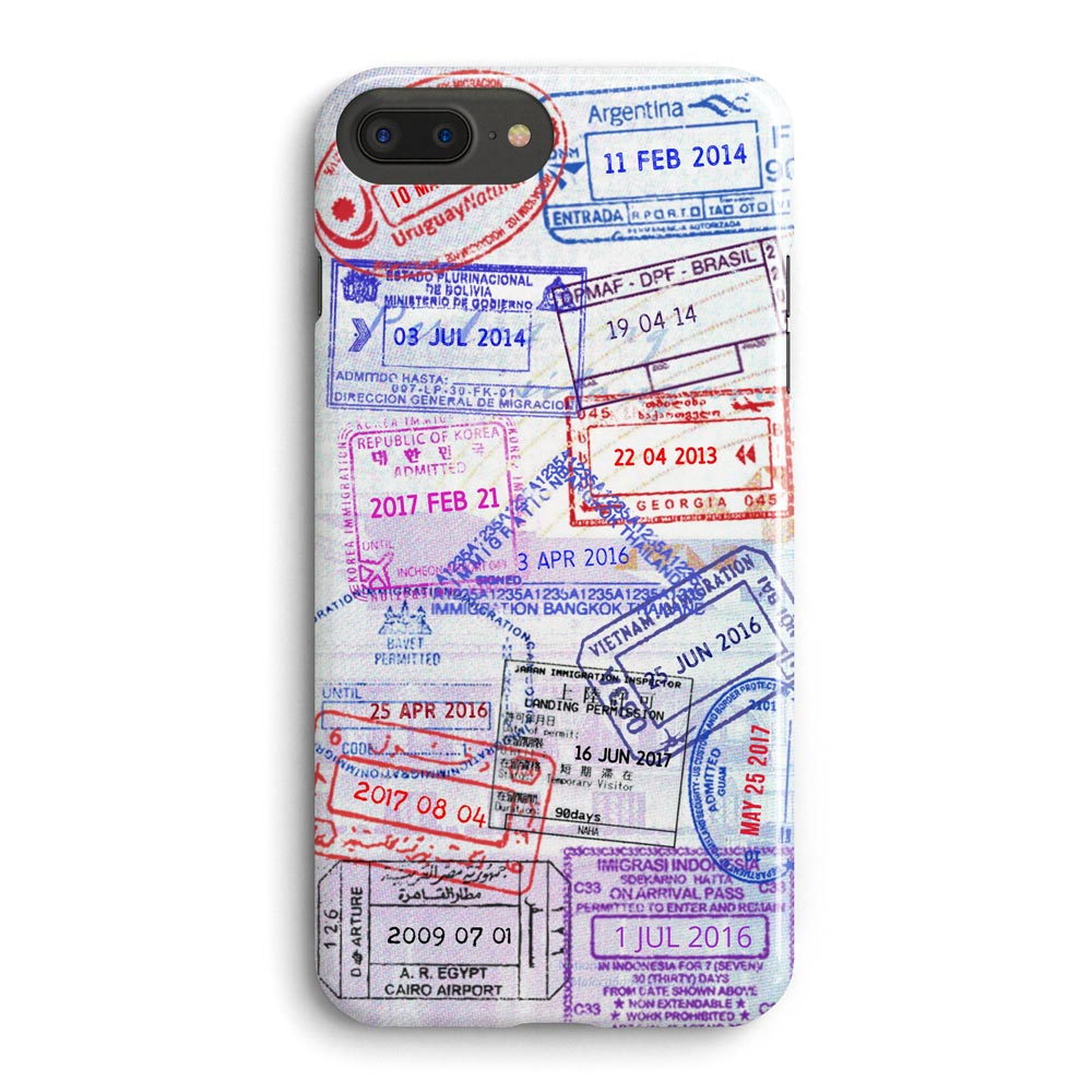 coque tampons voyages