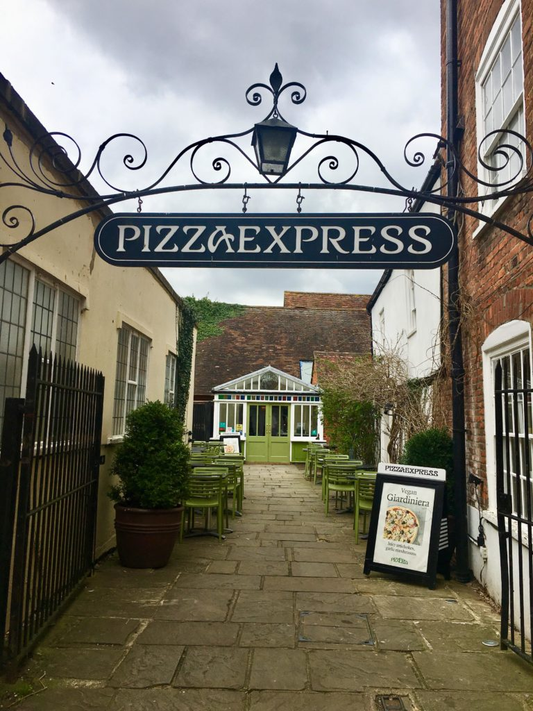 pizza express entrance